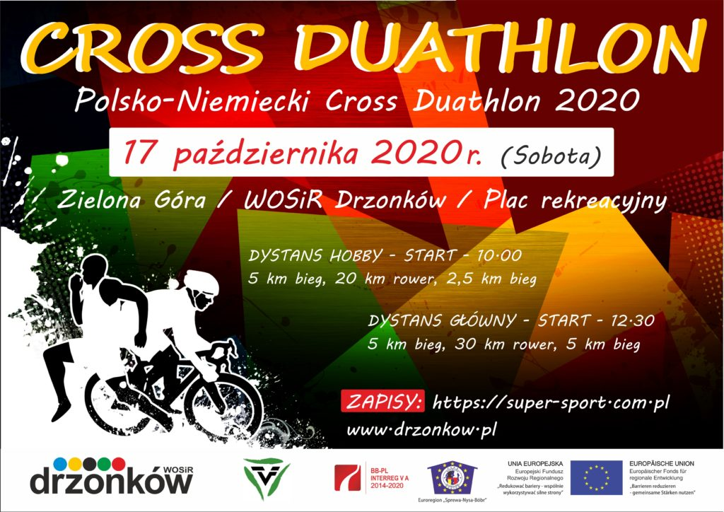 plakat_CROSS DUATHLON 2020_PL
